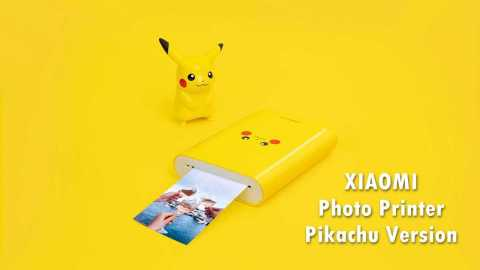 XIAOMI Photo Printer Pikachu - XIAOMI Photo Printer - Pikachu Version Banggood Coupon Promo Code