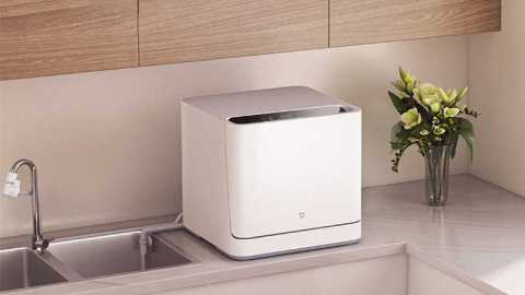 Xiaomi Mijia VDW0401M Internet Desktop Dish Washer - Xiaomi Mijia VDW0401M Internet Desktop Dish Washer Banggood Coupon Code [Czech Warehouse]