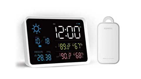 xiaomi yuihome digital weather station