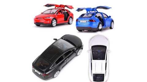 Baosilun Simulation Tesla MODEL X90 - Baosilun 1:32 Simulation Tesla MODEL X90 Alloy Car Banggood Coupon Promo Code