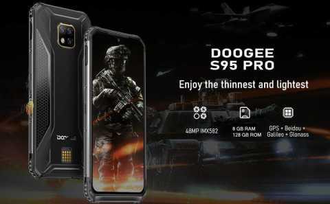 DOOGEE S95 PRO - DOOGEE S95 PRO Amazon Coupon Promo Code [8+128GB]