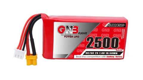 Gaoneng GNB 74V 2500mAh 3C - Gaoneng GNB 7.4V 2500mAh 3C 2S Lipo Battery Banggood Coupon Promo Code