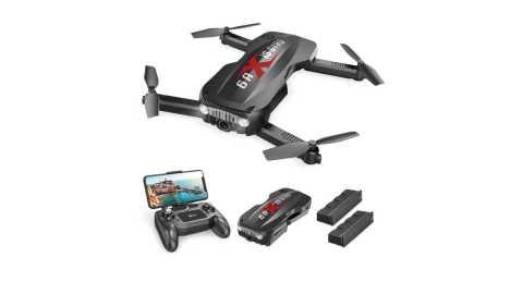 Holy Stone HS160 Pro - Holy Stone HS160 Pro Foldable Drone Amazon Coupon Promo Code [2 Batteries]