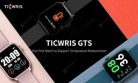 TICWRIS GTS - TICWRIS GTS Smartwatch Banggood Coupon Promo Code