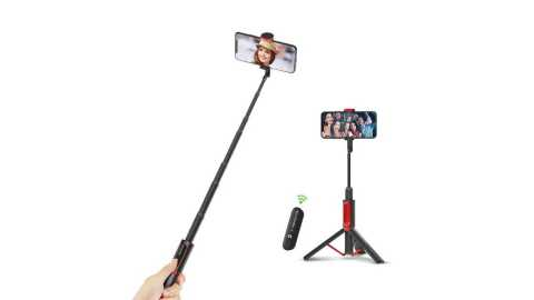 BlitzWolf BW BS10 - BlitzWolf BW-BS10 All In One Portable Selfie Stick Banggood Coupon Code [Russia Warehouse]