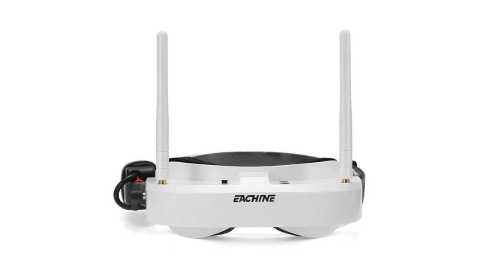 Eachine EV100 - Eachine EV100 FPV Goggles With Dual Antennas Banggood Coupon Promo Code [Czech Warehouse]