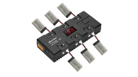 HTRC X6 - HTRC X6 4W*6 1A*6 DC Battery Charger Banggood Coupon Promo Code