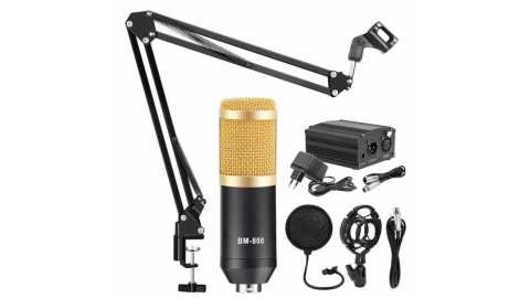 BM800 Microphone with shock - BM800 Condenser Microphone With Shock Mount Banggood Coupon Promo Code