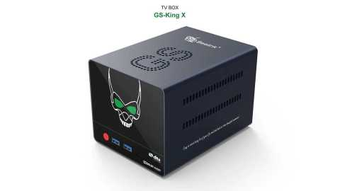 Beelink GS King X - Beelink GS-King TV Box Banggood Coupon Promo Code [4+64GB]