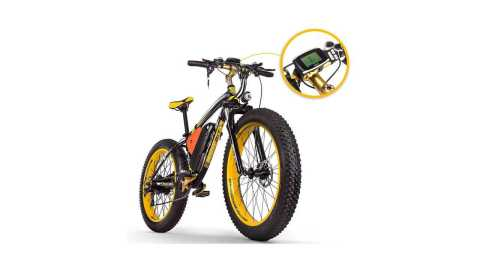 RICH BIT TOP 022 - RICH BIT TOP-022 26'' Electric Mountain Bike Banggood Coupon Promo Code [Czech Warehouse]