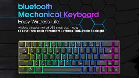 Royal Kludge RK855 - Royal Kludge RK855 bluetooth Mechanical Keyboard Banggood Coupon Promo Code