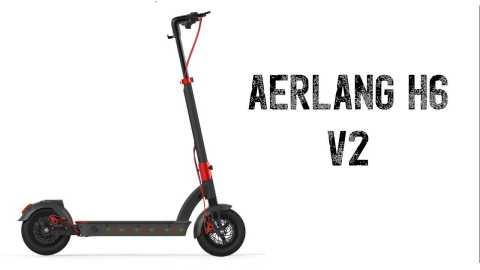 Aerlang H6 V2 - Aerlang H6 V2 Electric Scooter Banggood Coupon Promo Code