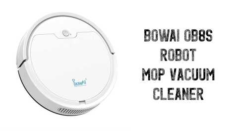 BOWAI OB8S - BOWAI OB8S Robot Mop Vacuum Cleaner Banggood Coupon Promo Code [Czech Warehouse]