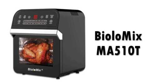 BioloMix 12L 1600W Air Fryer Oven - BioloMix MA510T 16-in-1 Countertop Oven Banggood Coupon Promo Code