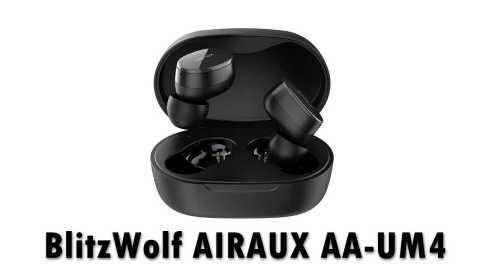 BlitzWolf AIRAUX AA UM4 - BlitzWolf AIRAUX AA-UM4 Mini True Wireless Earbuds Banggood Coupon Promo Code