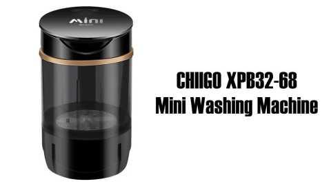 CHIIGO XPB32 68 Mini Washing Machine - CHIIGO XPB32-68 Mini Washing Machine Banggood Coupon Promo Code