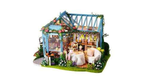 Cuteroom A068 - Cuteroom A068 DIY Cabin Rose Garden Tea House Banggood Coupon Promo Code