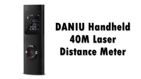 DANIU Handheld 40M Laser Distance Meter - DANIU Handheld 40M Laser Distance Meter Banggood Coupon Promo Code