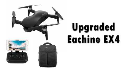 Eachine EX4 upgraded - Upgraded Eachine EX4 RC Drone Banggood Coupon Promo Code [Czech Warehouse]