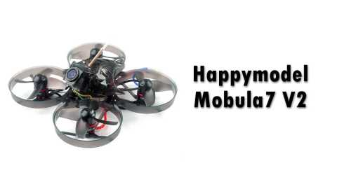 Happymodel Mobula7 V2 - Happymodel Mobula7 V2 2S FPV Racing Drone Banggood Coupon Promo Code [Czech Warehouse]