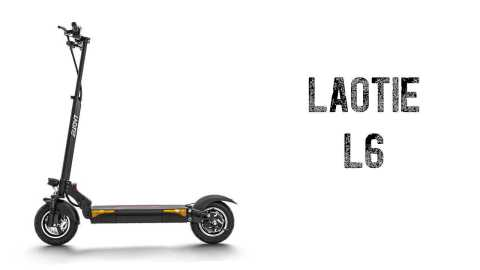LAOTIE L6 - LAOTIE L6 Folding Electric Scooter Banggood Coupon Promo Code