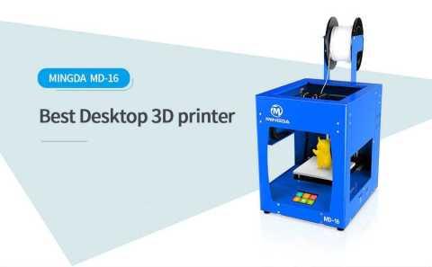 MINGDA MD 16 - MINGDA MD-16 3D Printer Gearbest Coupon Promo Code [Czech Warehouse]