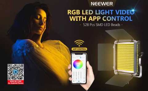 Neewer 530 RG Led Light - Neewer 530 RGB LED Video Light with APP Control Amazon Coupon Promo Code