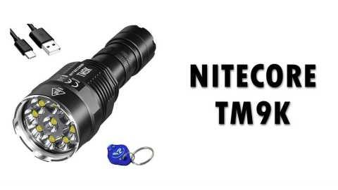 Nitecore TM9K - NITECORE TM9K Flashlight Gearbest Coupon Promo Code