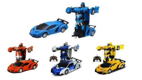 Rastar 2In1 Rc Car3 - Rastar 2 In 1 Rc Car Transformation Robot Banggood Coupon Promo Code [USA Warehouse]