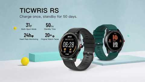 TICWRIS RS - TICWRIS RS Smartwatch Gearbest Coupon Promo Code