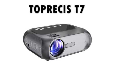 TOPRECIS T7 - TOPRECIS T7 LCD Projector Banggood Coupon Promo Code