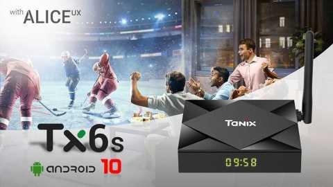 Tanix TX6S - TANIX TX6S TV Box Geekbuying Coupon Code [4+32GB] [Spain Warehouse]