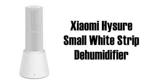 Xiaomi Hysure Dehumidifier - Xiaomi Hysure Small White Strip Dehumidifier Banggood Coupon Promo Code [Czech Warehouse]