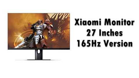 Xiaomi Monitor - Xiaomi Monitor 27 Inches 165Hz Version Banggood Coupon Promo Code [Czech Warehouse]