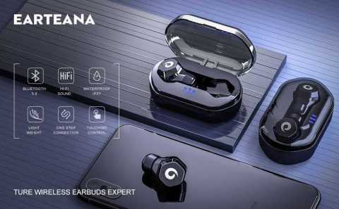 earteana True Wireless Earbuds - earteana True Wireless Earbuds Amazon Coupon Promo Code