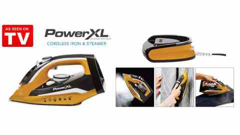 powerxl cordless iron and steame - PowerXL Cordless Iron and Steamer Coupon Promo Code