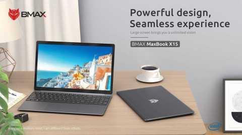 BMAX X15 - BMAX X15 Laptop Banggood Coupon Promo Code [N4100 8+128GB SSD]