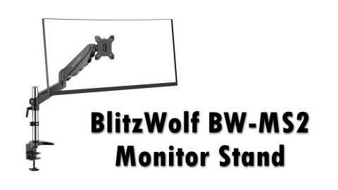 BlitzWolf BW MS2 Monitor Stand - BlitzWolf BW-MS2 Monitor Stand Banggood Coupon Promo Code [Czech Warehouse]