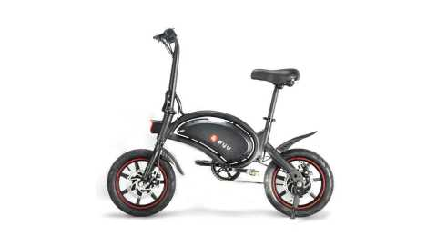 DYU D3F - DYU D3F Folding Moped Electric Bike Banggood Coupon Promo Code [6Ah] [UK Warehouse]