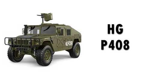HG P408 - HG P408 1/10 US RC Military Truck Banggood Coupon Promo Code [without Charger] [USA Warehouse]