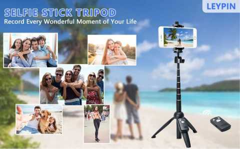 Leypin Selfie Stick - Leypin Selfie Stick Tripod Amazon Coupon Promo Code
