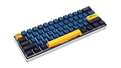 MechZone 109 Keys Blue Yellow Keycap Set - MechZone 109 Keys Blue Yellow Keycap Set Banggood Coupon Promo Code