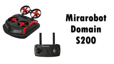 Mirarobot Domain S200 - Mirarobot Domain S200 3-in-1 RC Drone Gearbest Coupon Promo Code