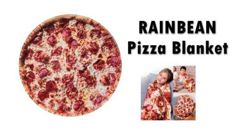 RAINBEAN Pizza Blanket - RAINBEAN Pizza Blanket Amazon Coupon Promo Code
