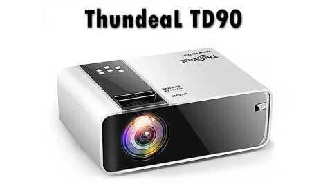 ThundeaL TD90 - ThundeaL TD90 LCD Projector Banggood Coupon Promo Code