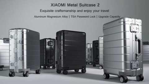 XIAOMI 20 Inch Metal Suitcase 2 - XIAOMI 20 Inch Metal Suitcase 2 Banggood Coupon Promo Code [2nd Generation]
