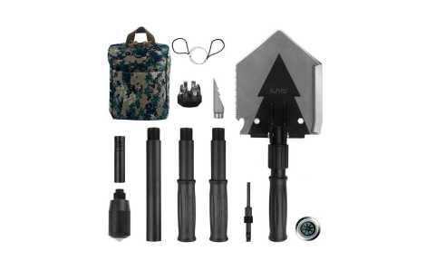 iunio Folding Shovel - iunio Folding Shovel Amazon Coupon Promo Code