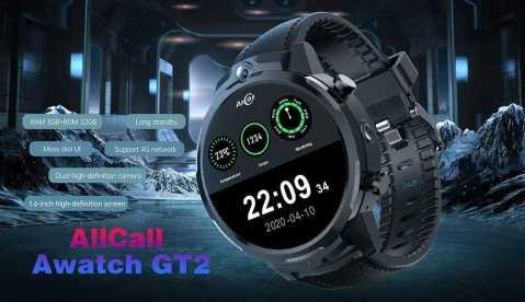 ALLCALL Awatch GT2 - ALLCALL Awatch GT2 Gearbest Coupon Promo Code