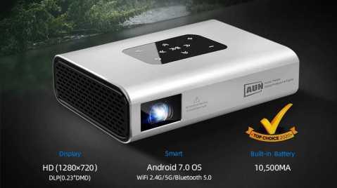 AUN X5 - AUN X5 DLP Projector Banggood Coupon Promo Code