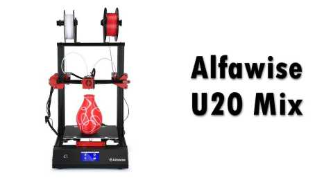 Alfawise U20 Mix - Alfawise U20 Mix 3D Printer Gearbest Coupon Promo Code